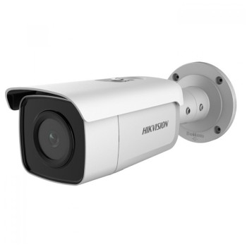 Hikvision DS-2CD2T85G1-I5 outdoor bullet IP camera with 8MP resolution, up to 50m IR, PoE and edge storage