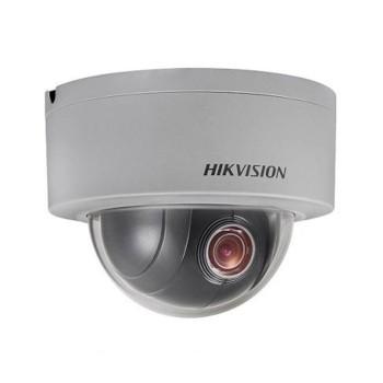 Hikvision DS-2DE3304W-DE outdoor mini-dome PTZ IP camera with 3 megapixel resolution, edge storage and PoE