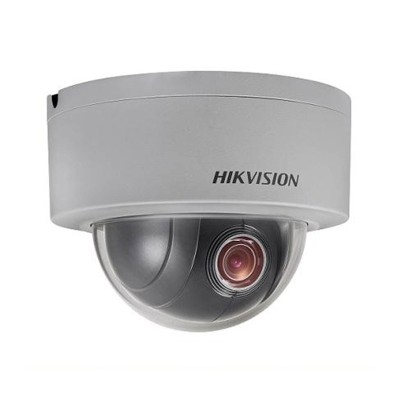 Hikvision DS-2DE3304W-DE outdoor mini-dome PTZ IP camera with 3 megapixel resolution, edge storage and PoE