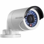 Hikvision DS-2CD2042WD-I outdoor mini-bullet IP camera with 4 megapixel resolution, IR illumination up to 30m and PoE