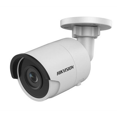 Hikvision DS-2CD2035FWD-I outdoor mini-bullet with 3MP resolution, up to 30m IR, edge storage and PoE