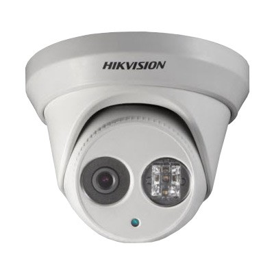 Hikvision DS-2CD2342WD-I-6mm outdoor vandal-resistant dome IP camera with 4MP resolution, up to 30m IR and edge storage