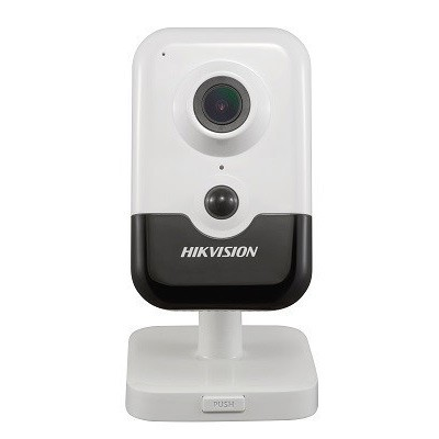 Hikvision DS-2CD2443G0-IW wireless, indoor fixed cube with 4MP resolution, up to 10m IR, two-way audio and edge storage
