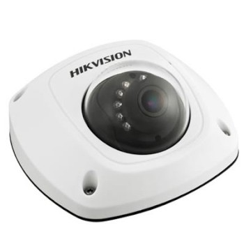 Hikvision DS-2CD2512F-IS-2.8MM outdoor mini dome IP camera, 1.3MP resolution, IR illumination up to 10m & on-board storage