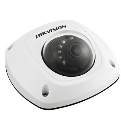 Hikvision DS-2CD2542FWD-IS-2.8mm outdoor mini dome IP camera with 4MP resolution, up to 10m IR and edge storage