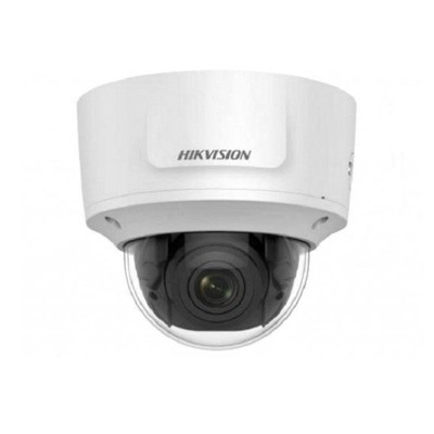 Hikvision DS-2CD2723G0-IZS outdoor-ready dome IP camera with 2MP resolution, varifocal lens, up to 30m IR, and PoE