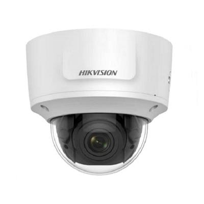 Hikvision DS-2CD2755FWD-IZS outdoor 5MP dome IP camera with up to 30m IR, varifocal lens and edge storage