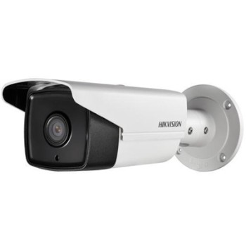Hikvision DS-2CD2T42WD-I5 outdoor bullet IP camera with 4 megapixel resolution, EXIR IR illumination up to 50m and PoE