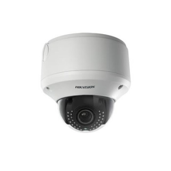 Hikvision DS-2CD4324F-IZHS outdoor dome IP camera with 2MP resolution, 30m IR and on-board storage