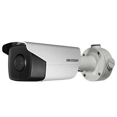 Hikvision DS-2CD4A65F-IZS outdoor IP camera with 6 megapixel resolution, 50m IR, 2-way audio, on-board storage and AF lens