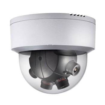 Hikvision DS-2CD6986F(5MM) PanoVu outdoor multi-sensor IP camera with 7.3MP resolution, Darkfighter, 180° view and high PoE
