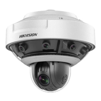 Hikvision DS-2DP0818Z-D PanoVu outdoor 8MP multi-sensor IP camera with 180° overview and built-in HD 1080p PTZ