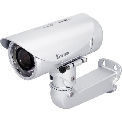 Vivotek IP7361 outdoor 2 megapixel day/night IP camera with 25m infrared night vision, tamper detection, 2-way audio, PoE