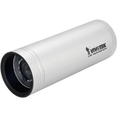 Vivotek IP8330 outdoor IP bullet camera, VGA resolution, infra red night-vision 15m range, SD card recording and PoE