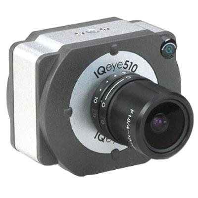 Image - IQeye 510 Global Shutter IP Camera Digital PTZ PoE