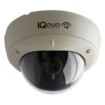 IQeye Alliance-mx IQM30NE-B5 outdoor vandal-resistant IP dome camera, day/night, 2-way audio and PoE