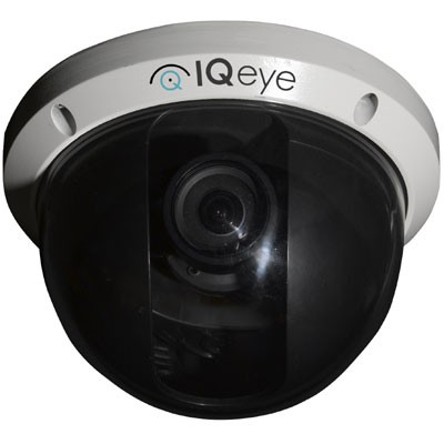 IQeye Alliance-pro IQA31NI-B5 indoor dome IP camera with HD720p, 2-way audio, Lightgrabber, PoE support