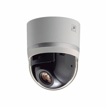 JVC VN-H657BU indoor 360â–' PTZ dome IP camera with Super LoLux HD 1080p, 18x optical zoom, edge storage and PoE+