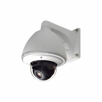 JVC VN-H657WPBU outdoor 360â–' PTZ dome IP camera with Super LoLux HD 1080p, 18x optical zoom, edge storage and PoE+