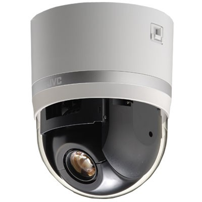 JVC VN-V685U network dome IP camera with day and night function and 360 degree endless rotation, PoE support and 27x zoom