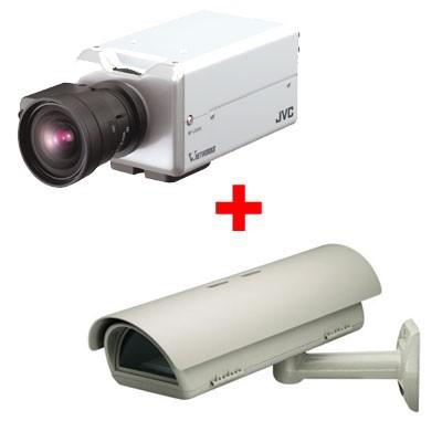 JVC VN-V25U Network camera - Outdoor bundle wall mount