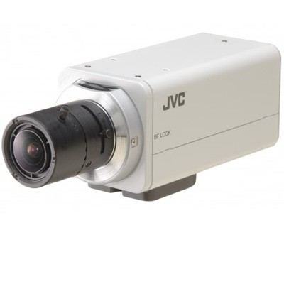 JVC VN-H37U Super LoLux HD 1080p indoor IP camera with true day/night, Wide Dynamic Range, SD card recording and PoE