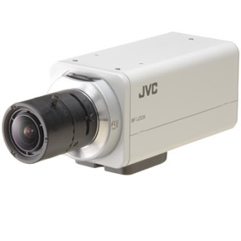 JVC VN-H57U Super LoLux HD 1080p indoor IP security camera with Wide Dynamic Range, true day/night and two-way audio