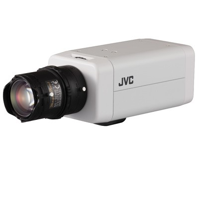 JVC VN-T16U LoLux HD 1080p indoor IP camera with easy day/night, 2-way audio, SD recording, ONVIF and PoE