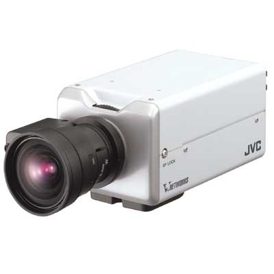 JVC VN-V25U IP camera for CCTV monitoring with Motion Detection PoE and Dual Streaming