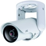 JVC VN-H157WPU Super LoLux HD 1080p outdoor day/night IP camera with Wide Dynamic Range, vandal resistance and PoE