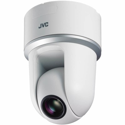 JVC VN-H557U indoor PTZ dome IP camera with Super Lo Lux HD 1080p, 10x optical zoom, day/night and SD card recording