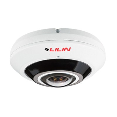 LILIN F2R3682IM outdoor panoramic IP camera with 8MP, built-in microphone, up to 20m IR, Sense Up Plus & PoE