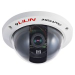 LILIN LD2322EX indoor dome network camera with HD 1080p (15 fps), 2 way audio, day/night and SD storage, in ceiling mount