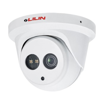LILIN P5R6522E2 outdoor vandal-resistant dome IP camera with HD 1080p resolution, up to 30m IR, Sense Up Plus & PoE