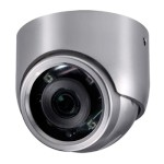 LILIN IPC0422 outdoor stainless steel dome IP camera with HD 1080p, 16m IR, WDR, two-way audio, Sense Up Plus and PoE
