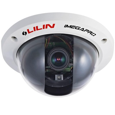 LILIN IPD2322ESX indoor day/night network camera with HD1080p resolution, SenseUp Plus, audio and face detection, PoE