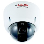 LILIN IPD6122ESX outdoor vandal-resistant day/night dome camera with HD 1080p resolution, SenseUp Plus, 2-way audio, PoE