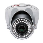 LILIN IPR320ESX3 HD 1080p outdoor IP security camera with day/night, built-in 21m infrared LEDs and Sense Up Plus, PoE