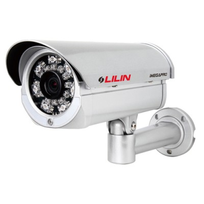 LILIN IPR434ESX outdoor 3MP network camera with 45m infrared night vision, SenseUp Plus and face detection, HPoE