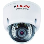 LILIN IPR6132ESX vandal-resistant HD 1080p outdoor dome IP camera with 3 megapixel, 25m IR lights and SD storage