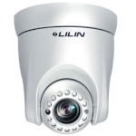 LILIN IPS2124P Indoor IP dome camera with pan, tilt and 12x zoom, built-in 16m infrared lighting, H.264, ONVIF