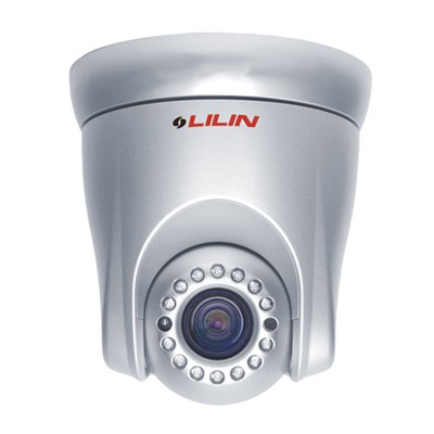 LILIN IPS2102E indoor PTZ speed dome IP camera with HD 1080p, 360°  pan, 10x optical zoom, 16m IR and edge storage