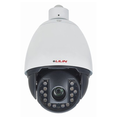 LILIN IRS1304 outdoor PTZ dome IP camera with HD 1080p resolution, 360° pan, 30x optical zoom, 150m IR and edge storage