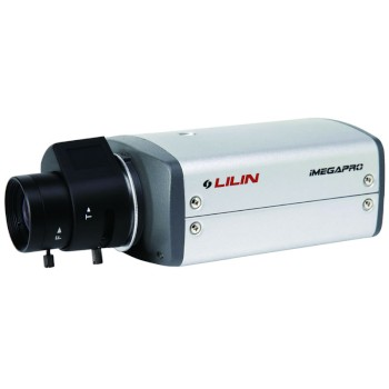 LILIN LB1022EX3 indoor network camera with 2 megapixel, HD 1080p (15 fps), 3D noise reduction, day/night and SD recording