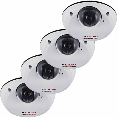 LILIN LD2222E4 indoor IP security camera HD 1080p (15 fps) - 4 pack