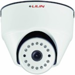 LILIN LR2522 indoor dome IP camera with HD 1080p (15 fps), 10m IR night-vision, I/O, two-way audio, PoE and edge storage