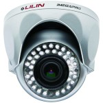 LILIN LR6022X vandal-resistant dome IP camera with IR light radiant up to 25m, HD1080p (15fps), day/night, WDR and PoE