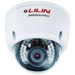 LILIN LR6122EX outdoor vandal resistant dome IP camera, infrared night-vision up to 25m, HD 1080p (15fps), WDR and PoE