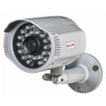 LILIN LR7922 outdoor mini-bullet IP camera with HD 1080p resolution, up to 20m IR, SenseUp Plus, PoE and edge recording