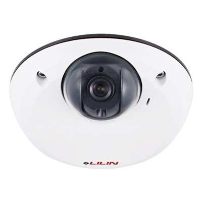 LILIN MD2222 indoor mini-dome IP camera with HD 1080p resolution, SenseUp Plus, edge storage and PoE